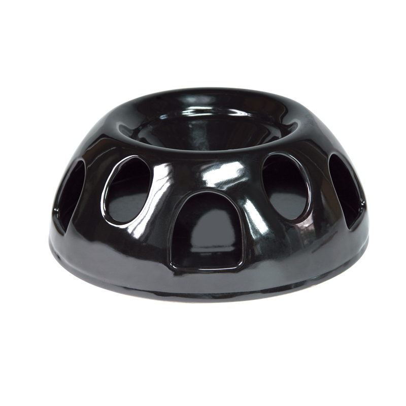 SmartCat Tiger Diner™ by Pioneer Pet Durable Ceramic, Black - Click Image to Close