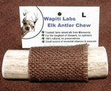 "Wapiti Labs Inc 4"" Elk Antler Chews - Large"