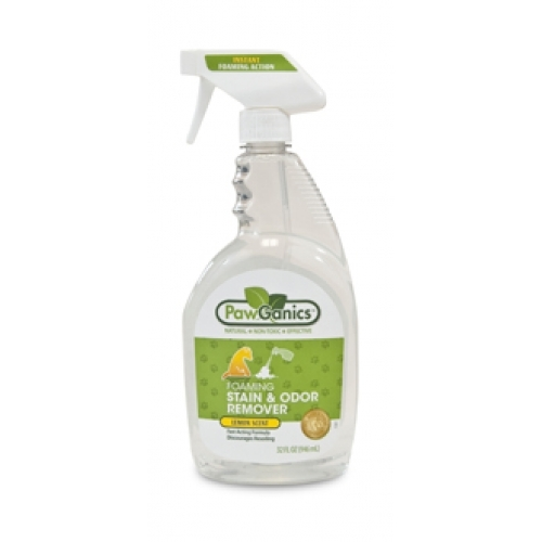 PawGanics Foaming Stain & Odor 32oz - Click Image to Close