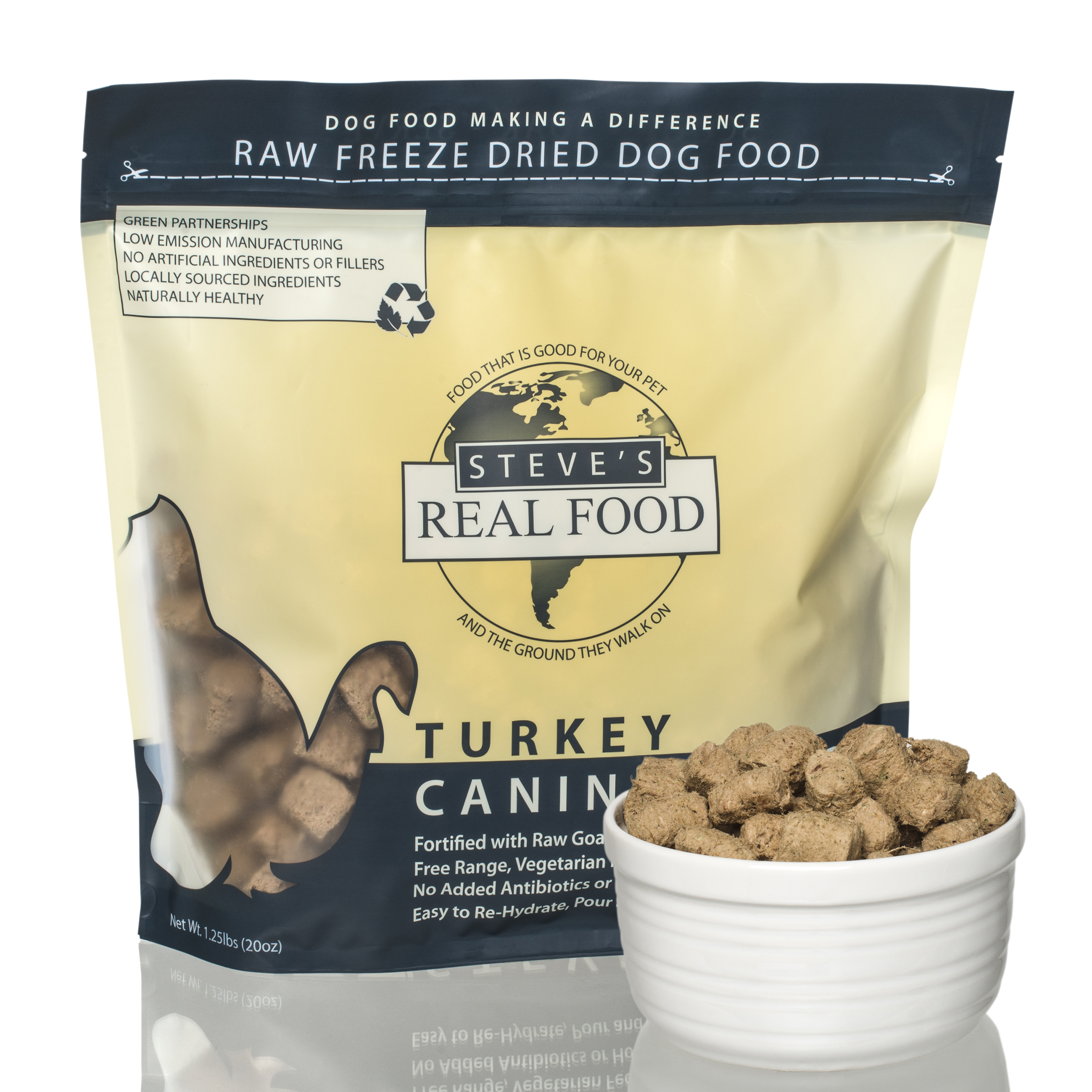 Steve's FZD Turkey Diet for dogs - 20oz