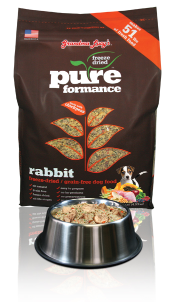 Grandma Lucy's - Pureformace Rabbit Freeze Dried - Click Image to Close