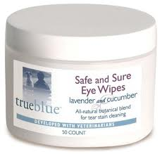 TrueBlue™ - Safe and Sure Eye Wipes - 50pads