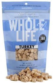 Whole Life Pet - Dog and Cay Treats - Turkey 4 oz