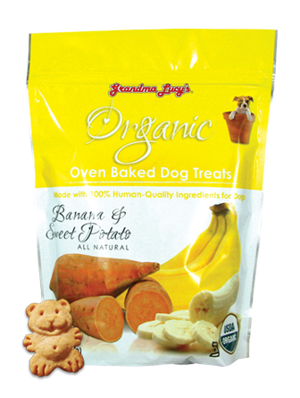 Grandma Lucy's Organic banana and sweet potato
