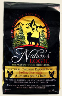 Nature's Logic Feline Dry Kibble Chicken