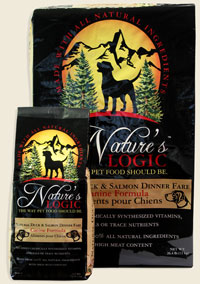 Nature's Logic Canine Dry kibble Duck & Salmon