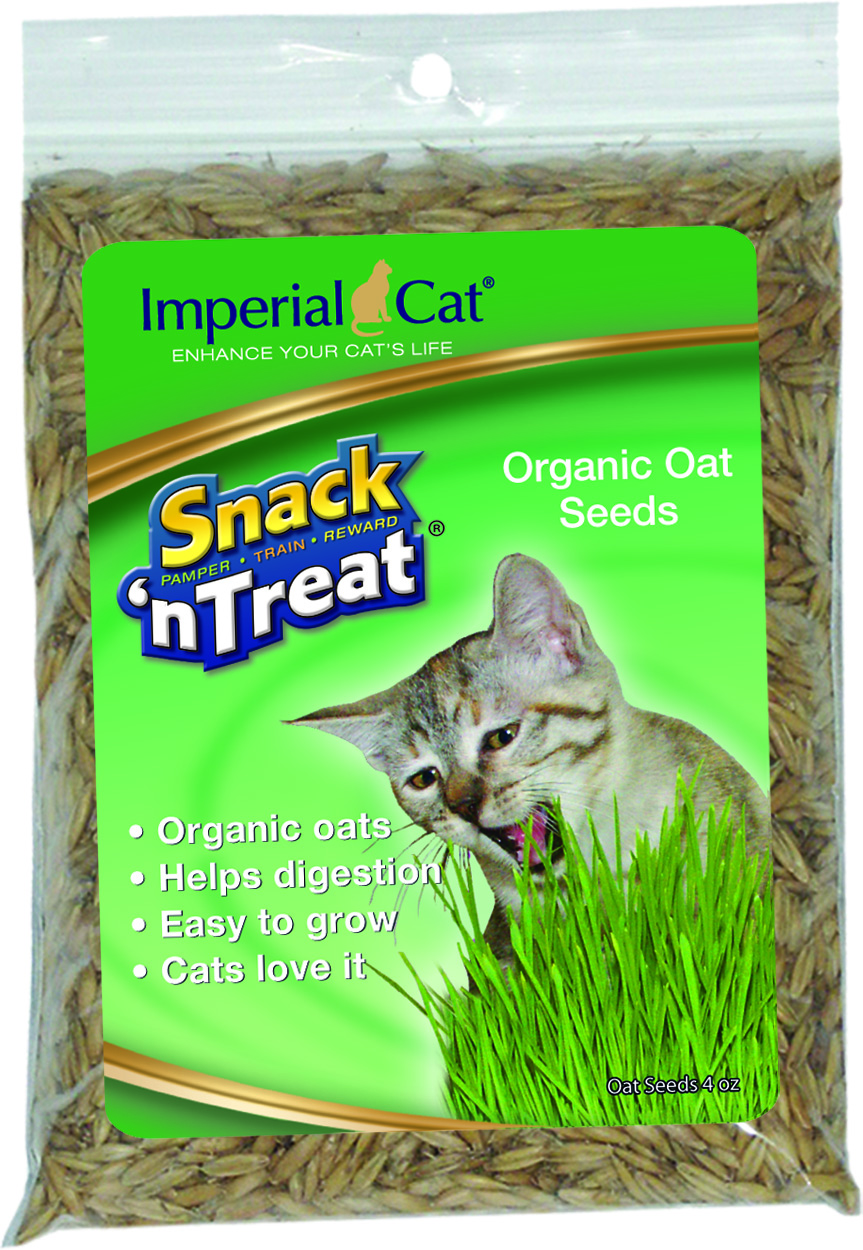 Imperial Cat Premium Organic Oat Seeds