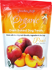 Grandma Lucy's Organic oven baked Peach 14oz
