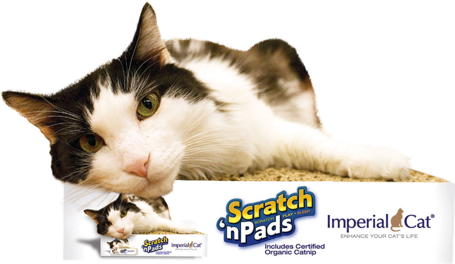 Imperial Cat Mega Scratch 'n Pad