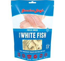 Grandma Lucy's Freeze Dried Ocean White Fish 3oz