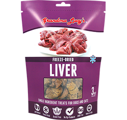 Grandma Lucy's Freeze Dried Liver 3oz